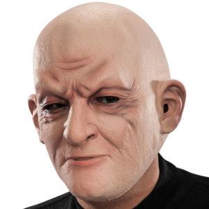 Gammal Gubbe Mask med Flint