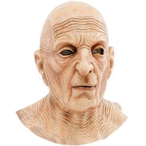 Gammal Man Mask med Rynkor