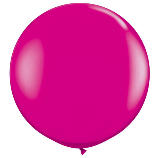 Gigantisk Ballong Magenta