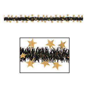 Girlang Guldiga Stjärnor