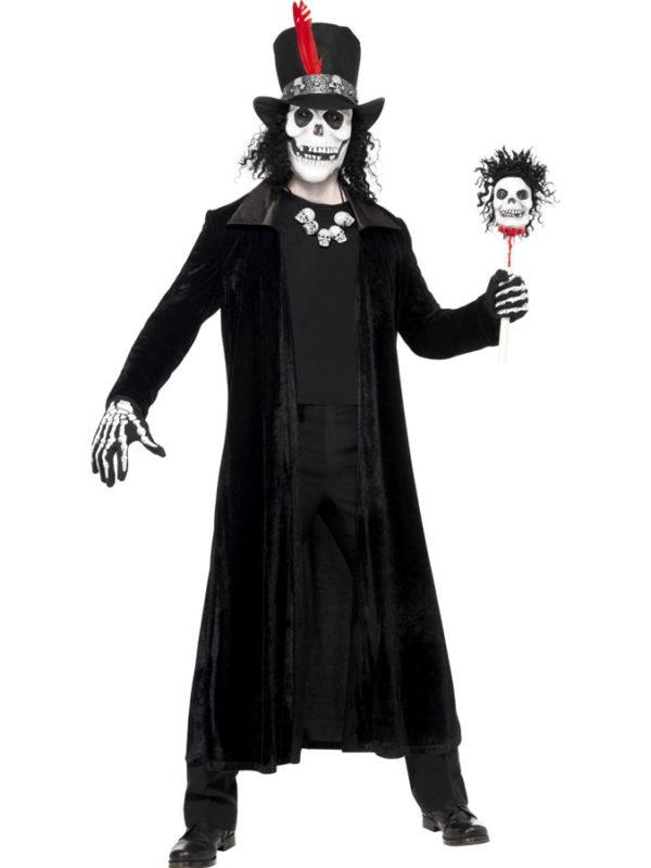 Häxmästare med Voodoo Mask Maskeraddräkt