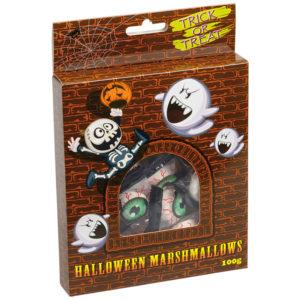 Halloween Godis Marshmallows Ögon