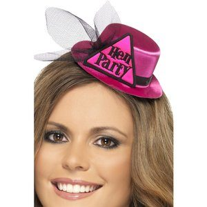 Hatt Hen Party - rosa