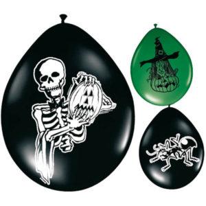 Läskiga Halloween Ballonger