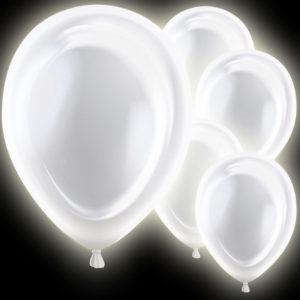 LED Ballonger Silver