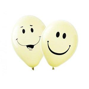 Latexballonger - Smiley 10-pack