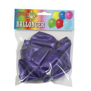 Lilametallic ballonger - 8 pack