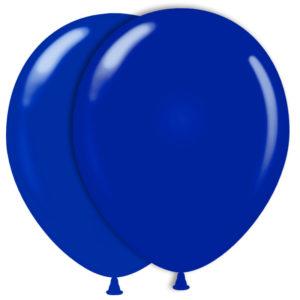 Mörkblå Ballonger (10-pack)