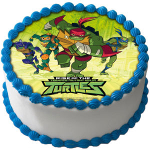 Ninja Turtles Tårtbild A