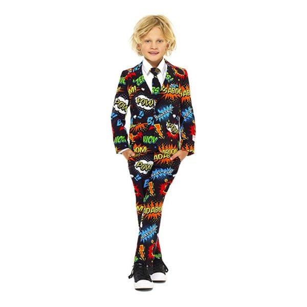 OppoSuits Boys Badaboom Kostym - 110-116