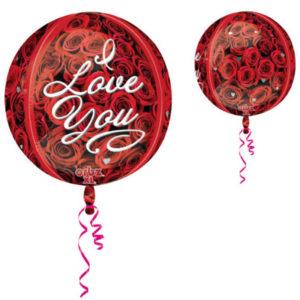 Orbz I Love You Ballong