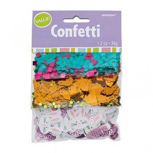 Påskfest konfetti till bord och inbjudningar - 34 g