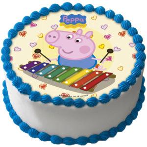 Peppa Pig Tårtbild Oblat A