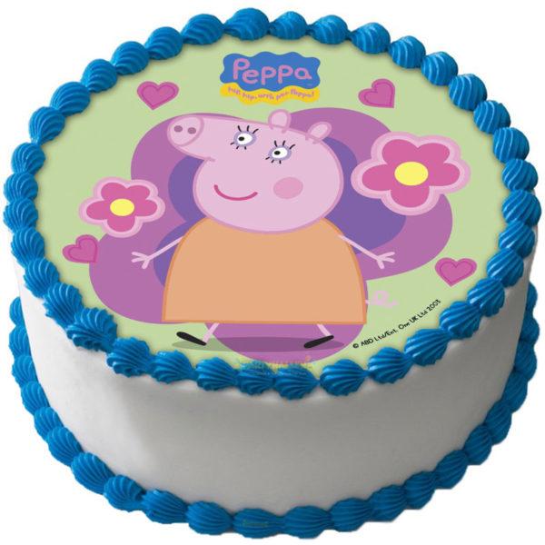 Peppa Pig Tårtbild Oblat D