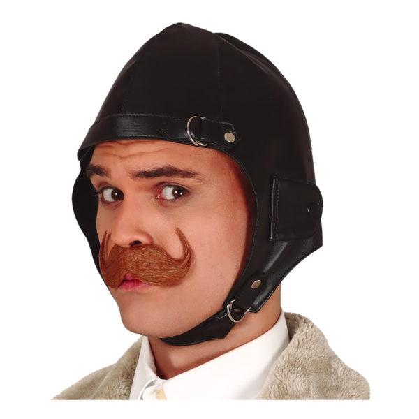 Pilotmössa Läder - One size