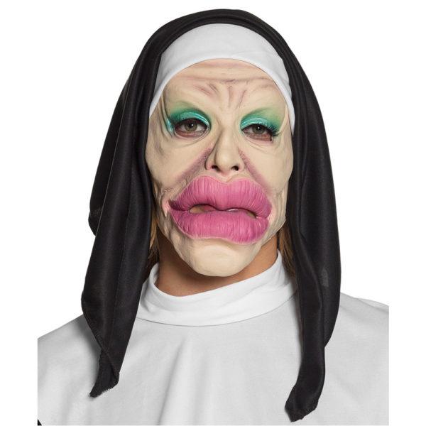 Plastikopererad Nunna Mask