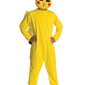 Pokemon Pikachu Dräkt Barn (Medium (5-7 år))