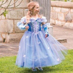 Prinsessan La Fleur barn maskeraddräkt
