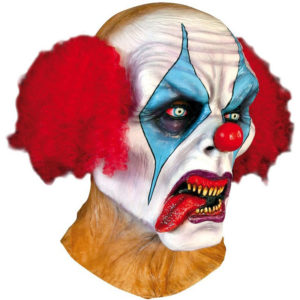 Psycho Clown Mask Deluxe