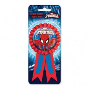 Spiderman Konfetti Prisrosett