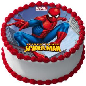 Spiderman Tårtbild A
