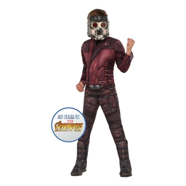 Star Lord Barn Deluxe Maskeraddräkt - Large