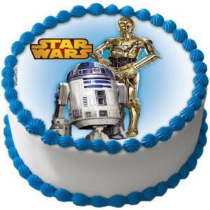 Star Wars Tårtbild Oblat C