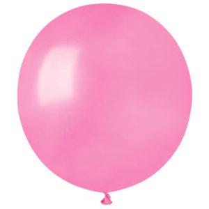 Stora Runda Rosa Ballonger (10-pack)