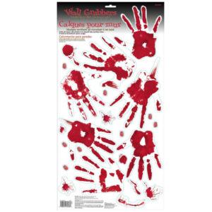 Väggdekorationer Blodiga Handavtryck