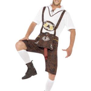 Välhängd Oktoberfest Dräkt (Medium)