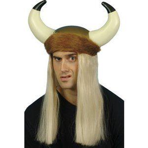 Vikinghjälm med horn