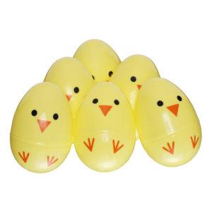 Äggjaktsägg Kycklingar - 6-pack