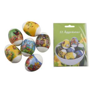 Äggvästar Påsk - 12-pack