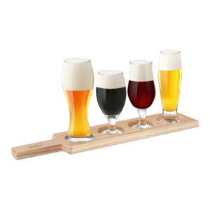 Ölprovarbricka med Glas