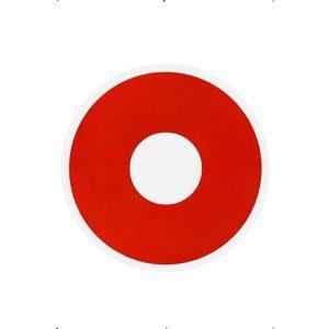 1 -dags blodröd kontaktlinser
