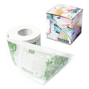 100 EUR Toalettpapper