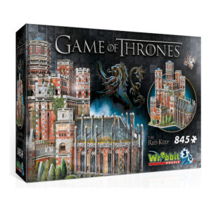 3D Pussel Game of Thrones the Red Keep