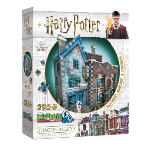 3D Pussel Harry Potter Ollivander´s Wand Shop & Scribbulus