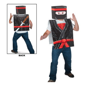 8-bitars Ninjaväst i Papp - One size