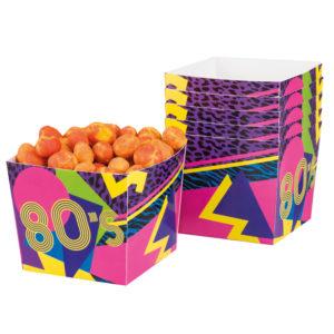 80-tals Snacksbägare