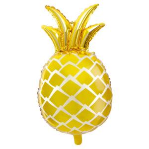 Ananas Guld Folieballong