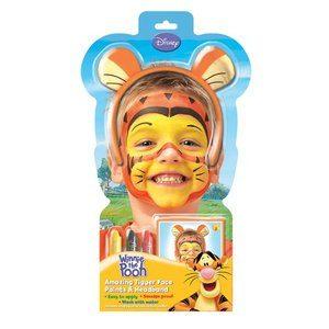Ansiktsfärg Tiger