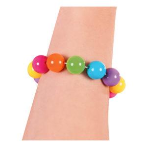Armband Regnbåge Kulor