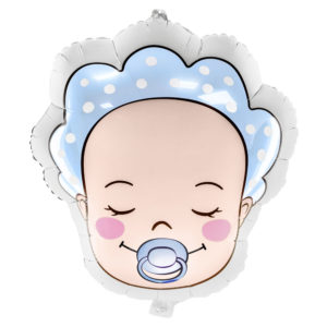 Baby Folieballong Blå