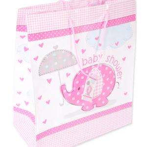 Babyshower kasse rosa