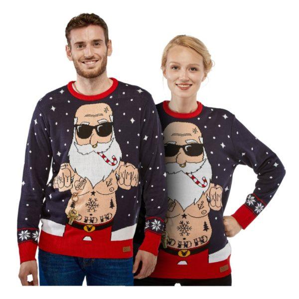 Bad Santa Jultröja - Large