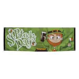 Banderoll St Patricks Day - (74 x 220 cm)