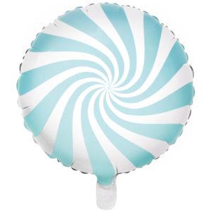 Blå Godis Folieballong