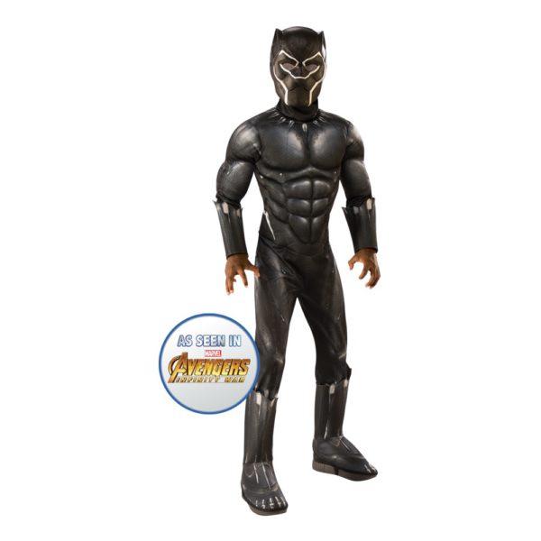 Black Panther Barn Maskeraddräkt - Medium