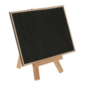 Blackboard Tavla på Ställ Trä